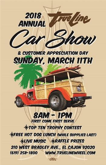 El Cajon Car Show  Schedule